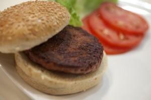 in-vitro burger